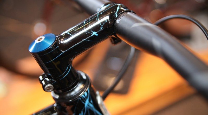 Customised parts compliment the bike's overall feel
