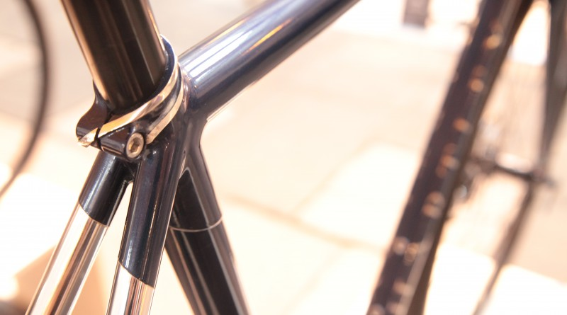 Some tidy detail at the seatstay junction