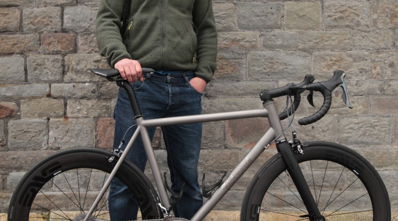 Titchmarsh Cycles' build that would go on to be the recipient of a rosette, courtesy of Cyclist magazine