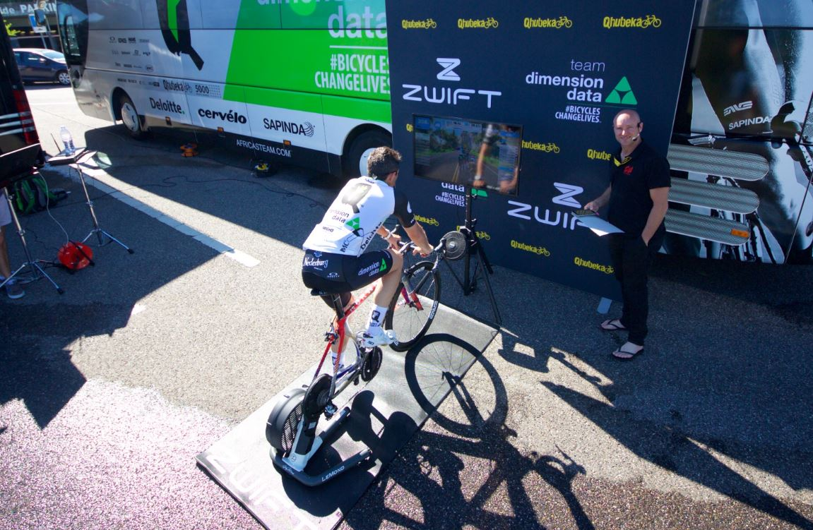 Zwift and Qhubeka partner for in game incentives, set to