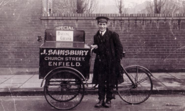 This isn't the first time Sainsbury's has delivered by cargobike