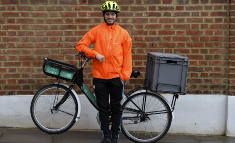Sainsbury's rolls out cargo bike delivery within London