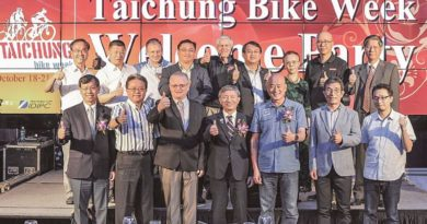 Taichung Bike Week shortens and shunts to end of September