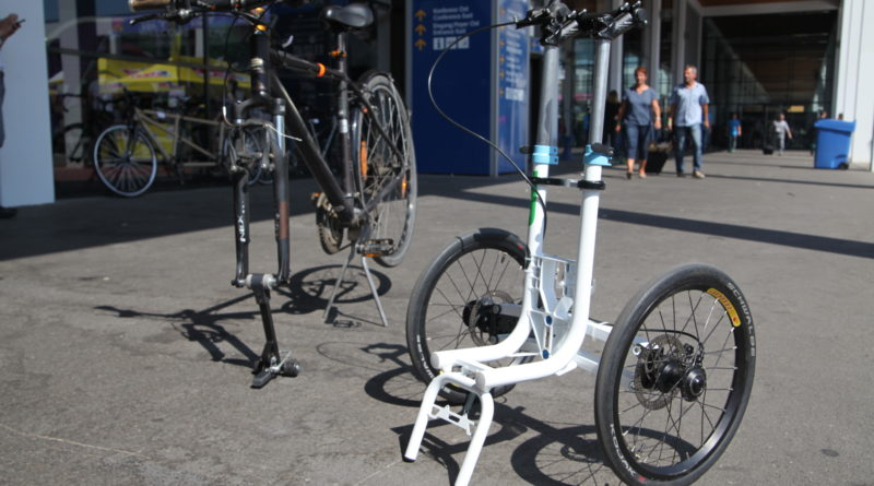 TR Fastenings develops 'sidecar' for city bicycles with