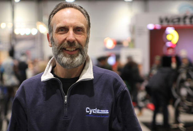 Cycletech director Martin Wilkins