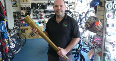neil at george halls cycle centre