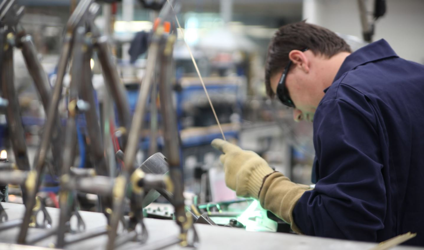 Brompton's Greenford plant is targeting 100,000 bikes produced a year