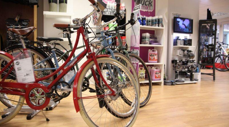 traditional bike shop