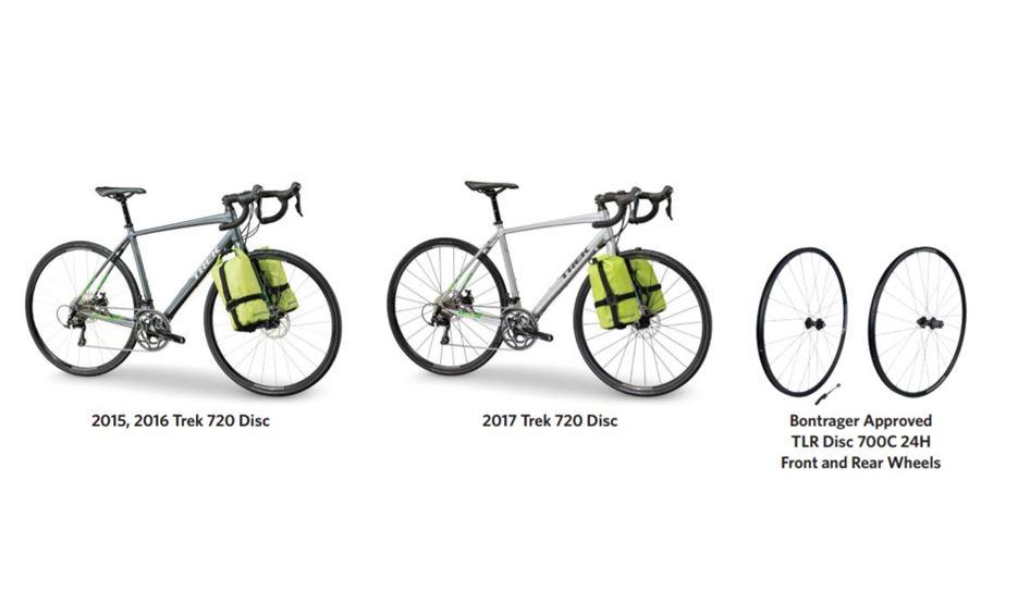 Trek recalls Bontrager disc wheelset and affected bikes