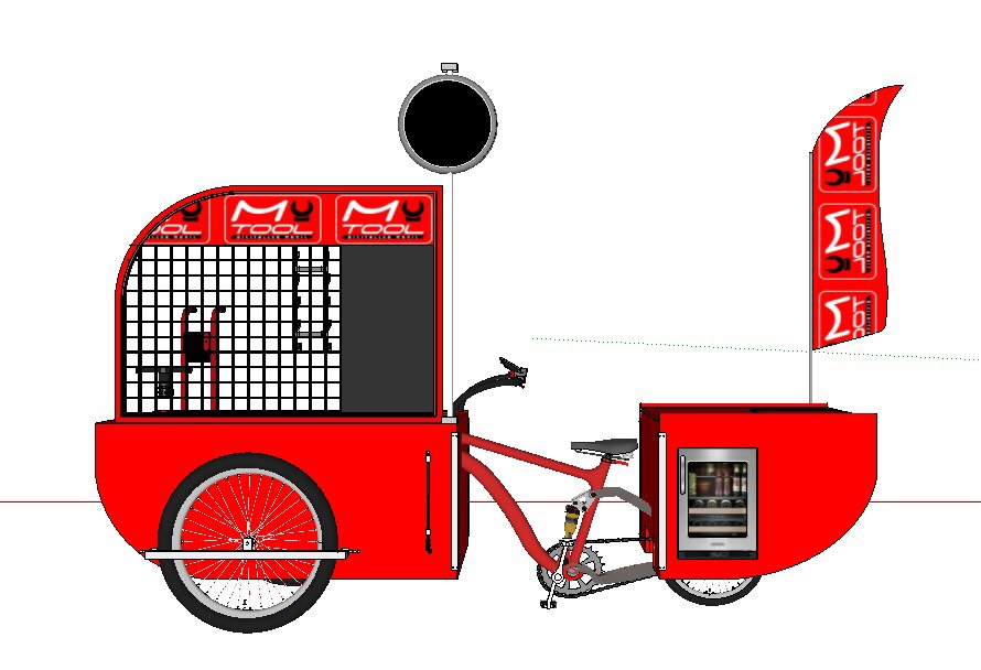 my tool cargo bike