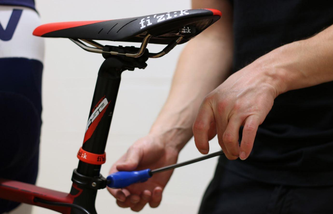 fitting bike