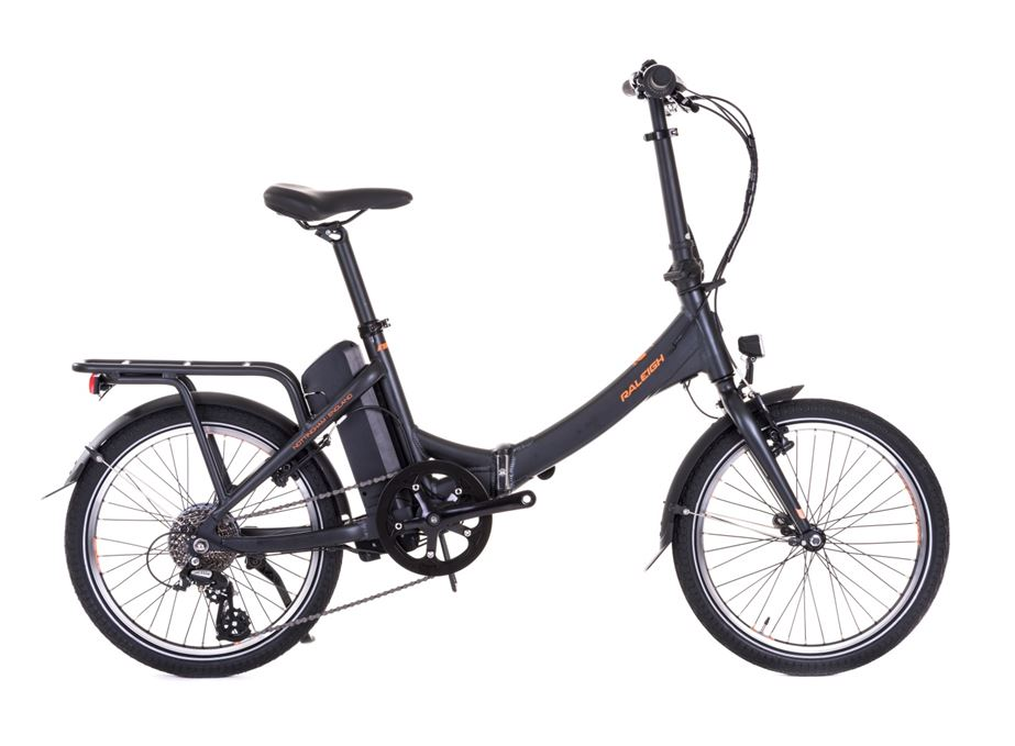 raleigh debuts stow e way electric folding bike. Black Bedroom Furniture Sets. Home Design Ideas