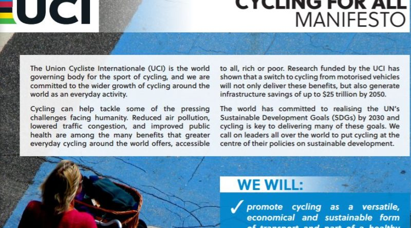 cycling for all manifesto