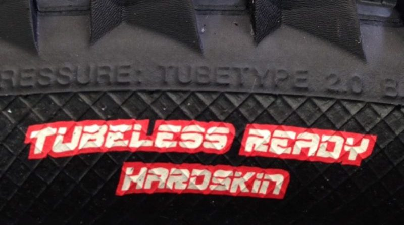 Staying clean when going tubeless