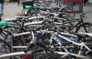 multi-modal cycle parking