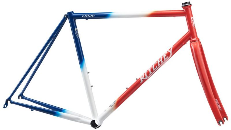 Lid Lifted On Ritcheys 2018 Heritage Edition Road Logic Frameset