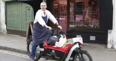E-cargo bike saves money, reduces delivery times and cuts CO2& particulate emissions for London business