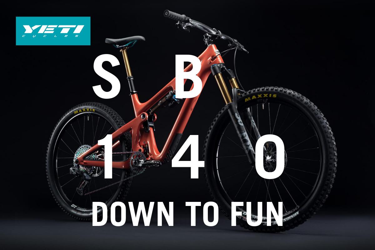 Yeti Cycles releases all-new SB140 & 2020 bike range