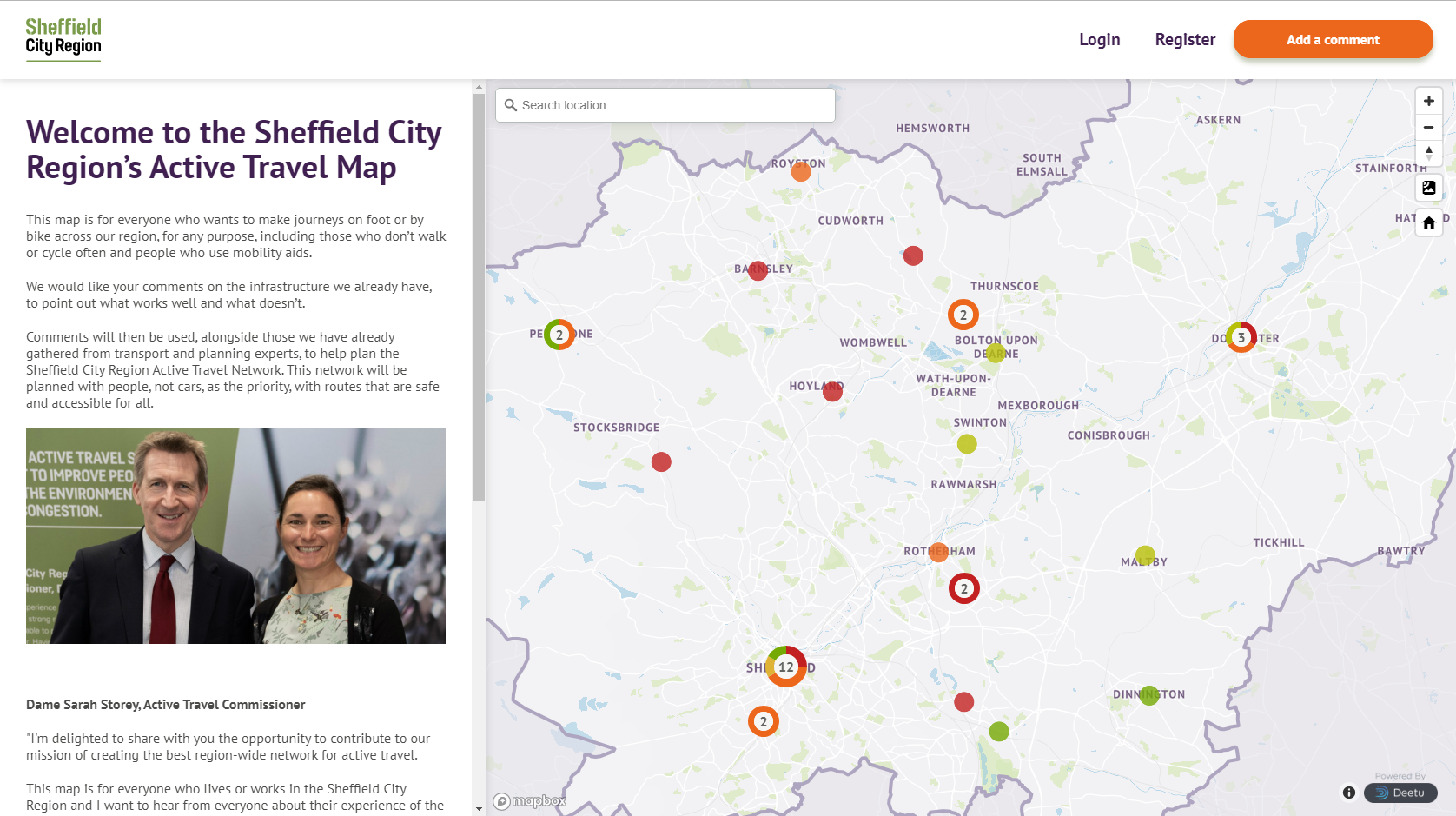Sheffield City Region launches interactive map to share ...