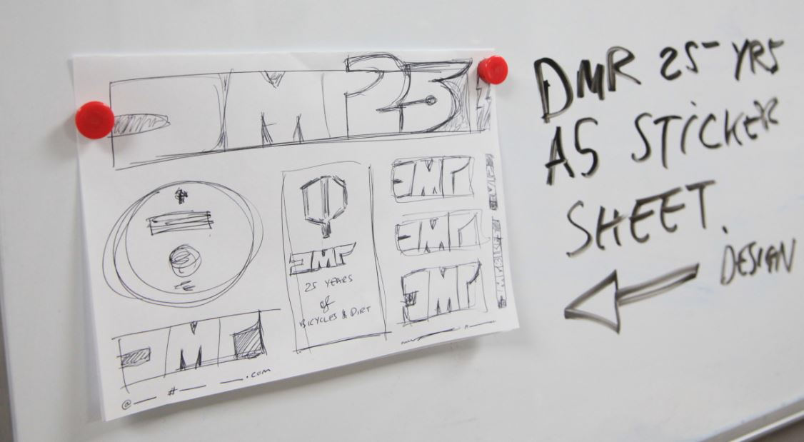 DMR logo 25 years
