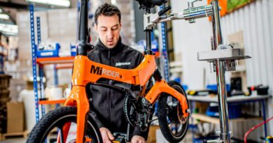 Mirider folding electric bike
