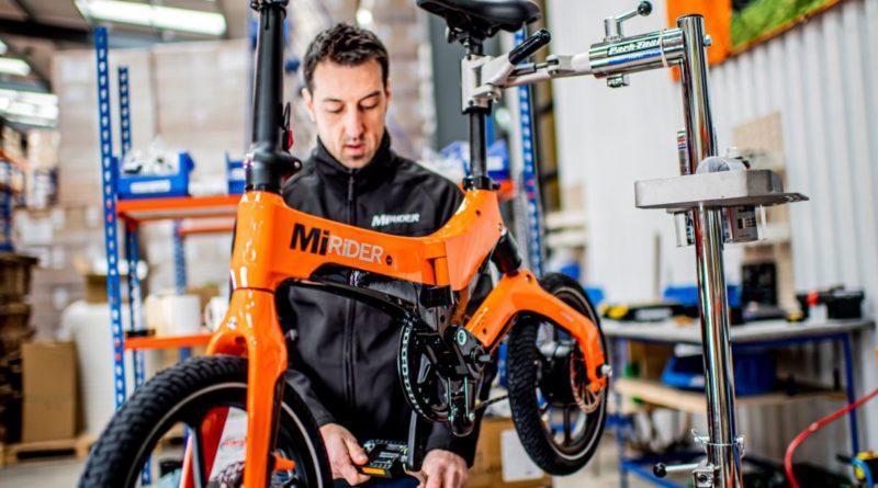 Mirider folding electric bike