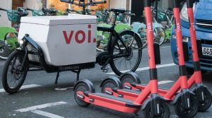 voi electric scooter
