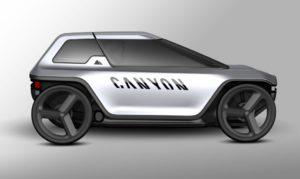 Canyon velomobile