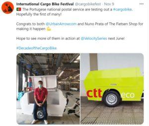 car cities cargo bike