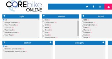 Corebike Online populates with key brand content from missed 2021 show