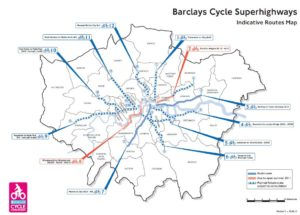 cycle lanes superhighway
