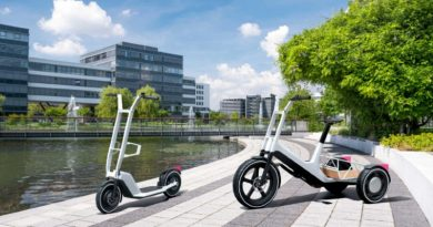 BMW Group unveil new e-bike and e-scooter concept