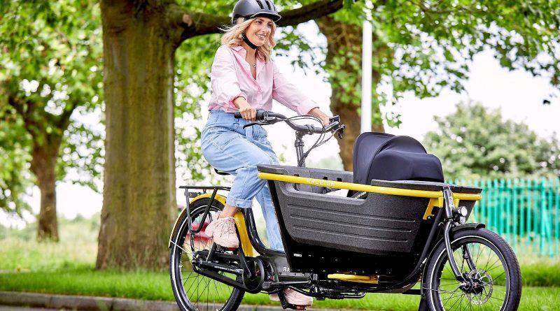 raleigh e-cargo bike Stride