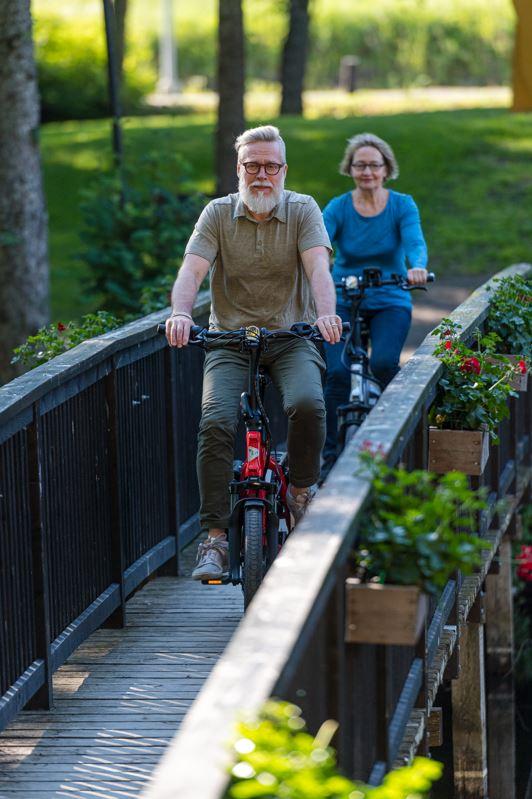 electric bike older rider