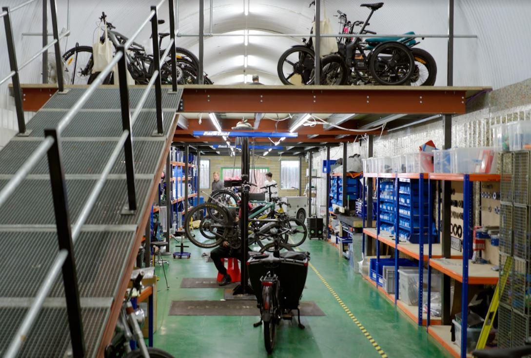 fullcharged e-bike workshop