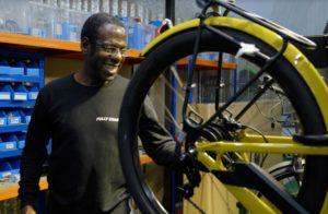 Fully charged workshop e-bike