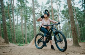 Gosia adamska bike shop merchandising bike shop
