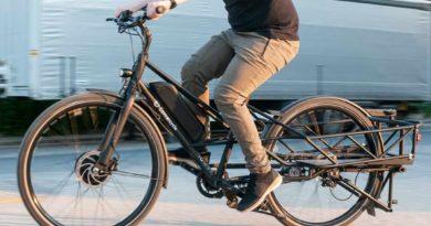 folding cargo bike